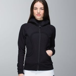 Lululemon Black Scuba Hoodie Sweatshirt Jacket